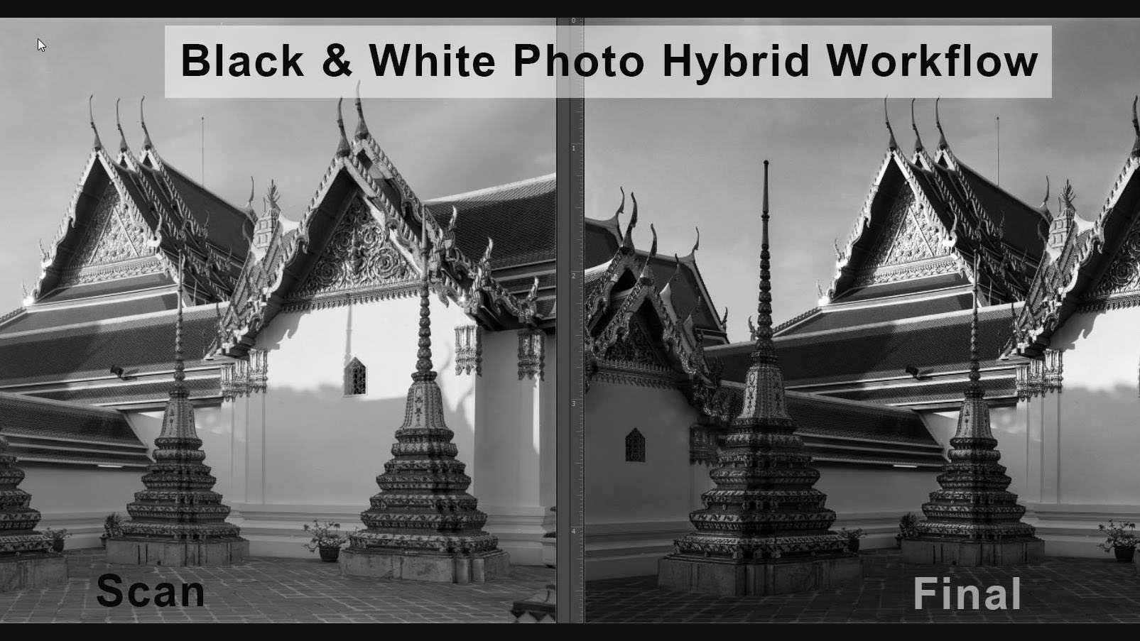 Black & White Photo Hybrid Workflow